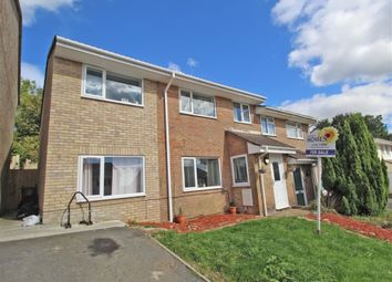 Thumbnail 4 bed semi-detached house for sale in Riverford Close, Woolwell, Plymouth