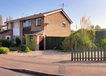 Thumbnail 3 bedroom semi-detached house for sale in Hazelrigg Close, Castle Donington, Derby