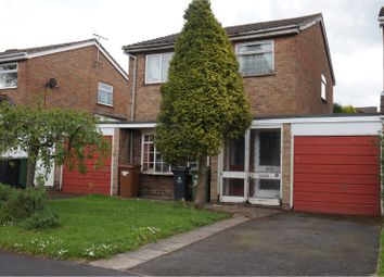 Thumbnail 3 bed link-detached house for sale in Hillview, Walsall