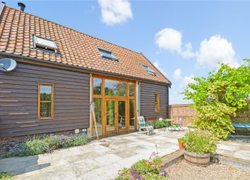 Thumbnail 3 bed barn conversion for sale in Fersfield Road, Kenninghall, Norwich