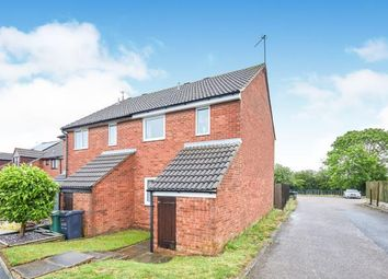 Thumbnail 3 bed semi-detached house for sale in Brackenfield Way, Thurmaston, Leicester, Leicestershire