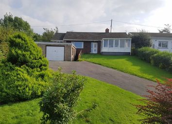 Thumbnail 4 bed detached bungalow for sale in Llanilar, Aberystwyth