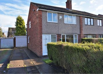 Thumbnail 3 bed semi-detached house to rent in Longwood Crescent, Leeds