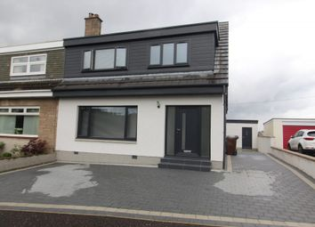 Thumbnail 3 bed semi-detached house for sale in Dunrobin Road, Airdrie