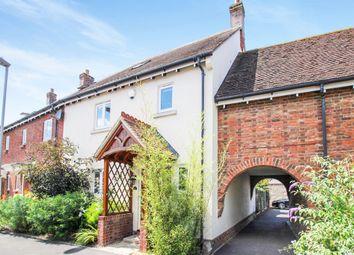 Thumbnail 3 bedroom end terrace house for sale in Augustan Avenue, Shillingstone, Blandford Forum
