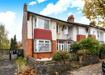 Thumbnail 3 bed end terrace house for sale in Hedge Lane, Palmers Green, London