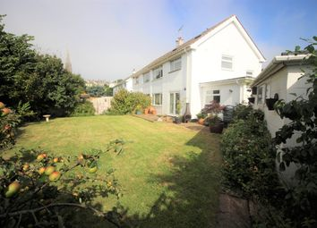 Thumbnail 4 bed semi-detached house for sale in St. Margarets Close, Torquay