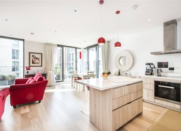 Thumbnail 2 bed flat for sale in Millennium House, 10 Plaza Gardens, London
