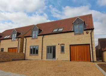 Thumbnail 4 bed detached house for sale in High Street, Castle Bytham, Grantham