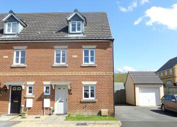 Thumbnail 4 bed end terrace house for sale in Ffordd Y Glowyr, Betws, Ammanford, Carmarthenshire.
