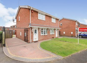 Thumbnail 2 bed semi-detached house for sale in Widgeon Grove, Featherstone, Wolverhampton