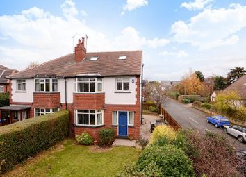 Thumbnail 5 bed semi-detached house to rent in Lidgett Lane, Roundhay, Leeds