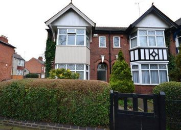 Thumbnail 3 bed semi-detached house for sale in Victoria Park Road, Leicester
