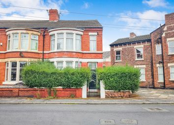 Thumbnail 4 bed semi-detached house for sale in Sandrock Road, Wallasey