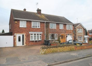 Thumbnail 3 bed semi-detached house for sale in Lodge Road, Rushden