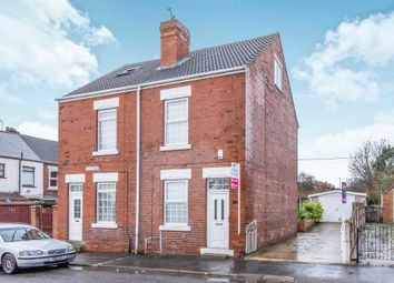 Thumbnail 2 bed semi-detached house for sale in Park Road, Conisbrough, Doncaster