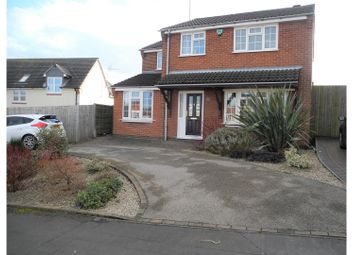 Thumbnail 4 bed detached house for sale in Rouen Way, Ashby-De-La-Zouch