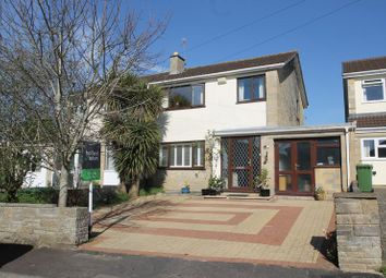 Thumbnail 3 bed semi-detached house for sale in Martins Close, Wells