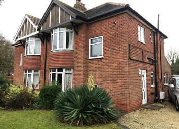 Thumbnail 3 bed semi-detached house to rent in Yarborough Crescent, Lincoln