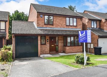 Thumbnail 4 bed detached house to rent in Pontypool Close, Oakwood, Derby