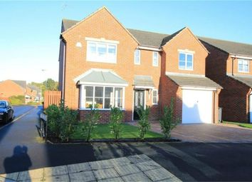 Thumbnail 4 bed detached house for sale in Hawthorn Drive, School Aycliffe, Newton Aycliffe, Durham