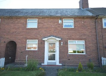 Thumbnail 2 bed terraced house for sale in Ashfield Road, Bromborough, Wirral