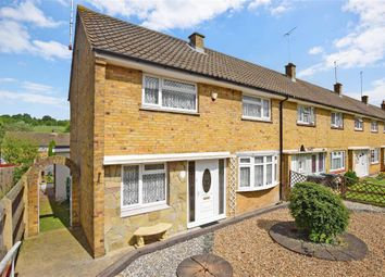 Thumbnail 3 bedroom end terrace house for sale in Stanley Crescent, Gravesend, Kent