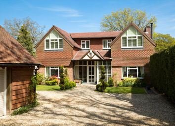Thumbnail 4 bed detached house for sale in Hermitage Road, Cold Ash, Thatcham