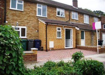 Thumbnail 3 bed terraced house to rent in Riverside Place, Pymmes Green Road, London