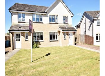 Thumbnail 3 bed semi-detached house for sale in Tobermory Gardens, Airdrie