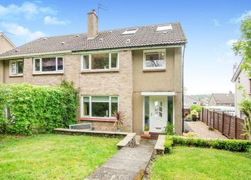 Thumbnail 3 bedroom semi-detached house for sale in Shawwood Crescent, Newton Mearns, Glasgow