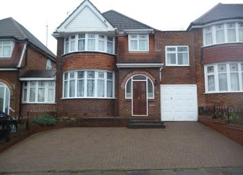 Thumbnail 4 bed detached house for sale in Edenhall Road, Quinton, Birmingham