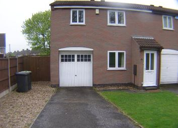 Thumbnail 2 bed semi-detached house to rent in Laurel Crescent, Nuthall