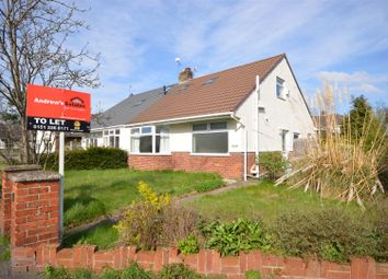 Thumbnail 3 bed bungalow to rent in Hadlow Road, Willaston, Neston