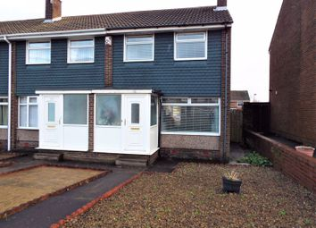 Thumbnail 3 bed end terrace house for sale in Regency Gardens, North Shields