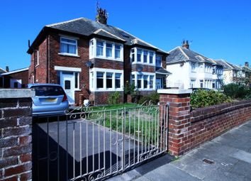 Thumbnail 4 bed semi-detached house for sale in Raleigh Avenue, Blackpool, Lancashire