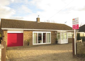 Thumbnail 3 bedroom detached bungalow for sale in Wainfleet Road, Irby-In-The-Marsh, Skegness