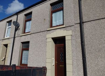 Thumbnail 3 bedroom terraced house for sale in Dillwyn Street, Llanelli