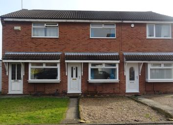 Thumbnail 2 bed town house to rent in Sherwood Close Mansfield, Nottingham