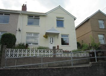 Thumbnail 3 bed semi-detached house for sale in Hillside Terrace, Deri