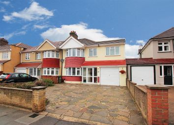 Thumbnail 4 bed semi-detached house for sale in Okehampton Crescent, Welling