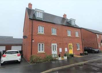 Thumbnail 4 bed semi-detached house for sale in Thillans, Cranfield, Bedfordshire