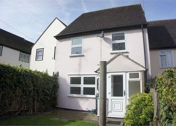 Thumbnail 3 bedroom terraced house for sale in Short Cut Road, Colchester, Essex.