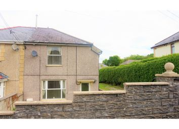 Thumbnail 2 bed semi-detached house for sale in Empire Avenue, Cwmgwrach