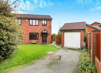 Thumbnail 3 bed semi-detached house for sale in Tewkesbury Close, Great Sutton, Ellesmere Port