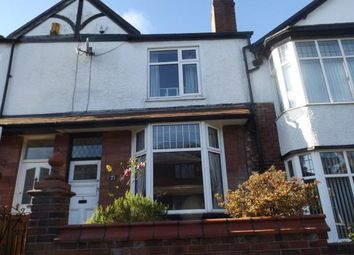 Thumbnail 2 bedroom terraced house for sale in Conway Avenue, Bolton, Greater Manchester