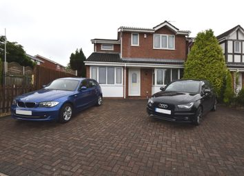 Thumbnail 3 bed detached house for sale in Barbridge Road, Newcastle-Under-Lyme