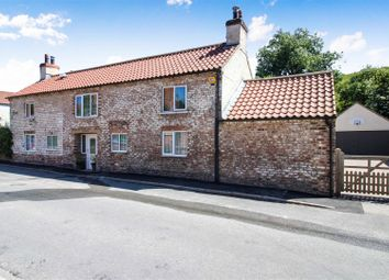 Thumbnail 4 bed detached house for sale in Back Street, Langtoft, Driffield