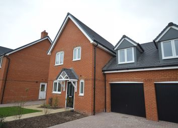 Thumbnail 3 bed semi-detached house to rent in Vespasian Close, Stane Street, Westhampnett, Chichester