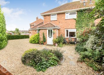 Thumbnail 5 bed semi-detached house for sale in Ethel Gooch Road, Wymondham